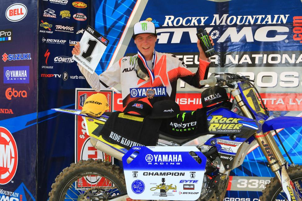 Bradley Taft won 250 B Limited. Photo: Ken Hill