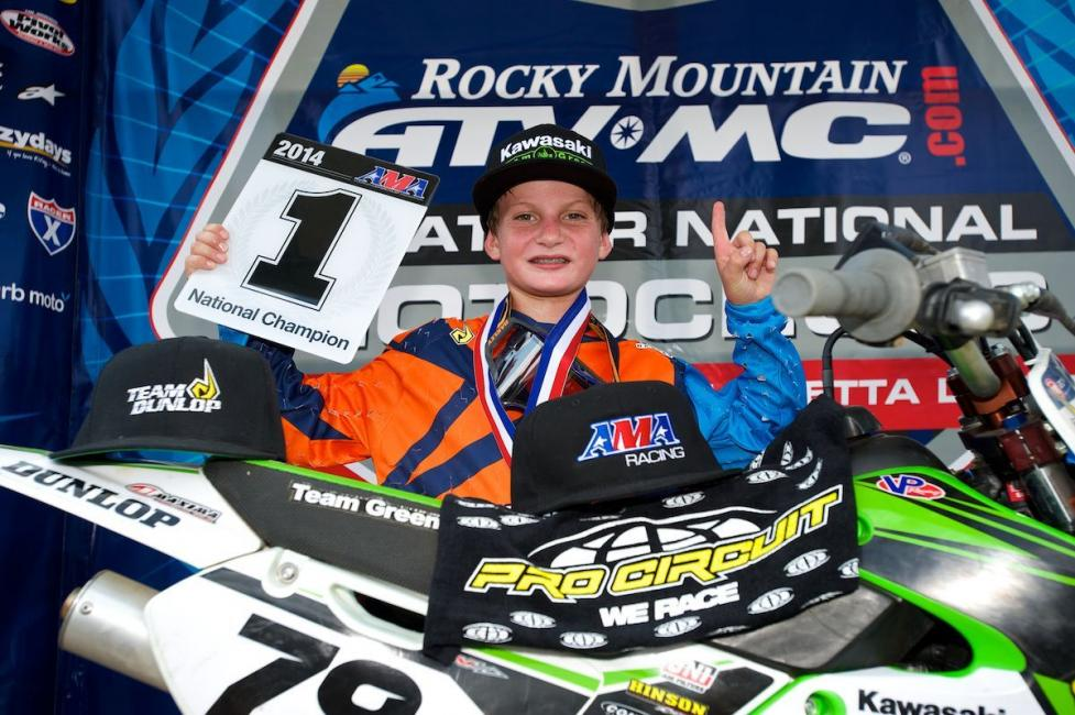 Jett Reynolds won two titles at Loretta's. Photo: Christian Munoz