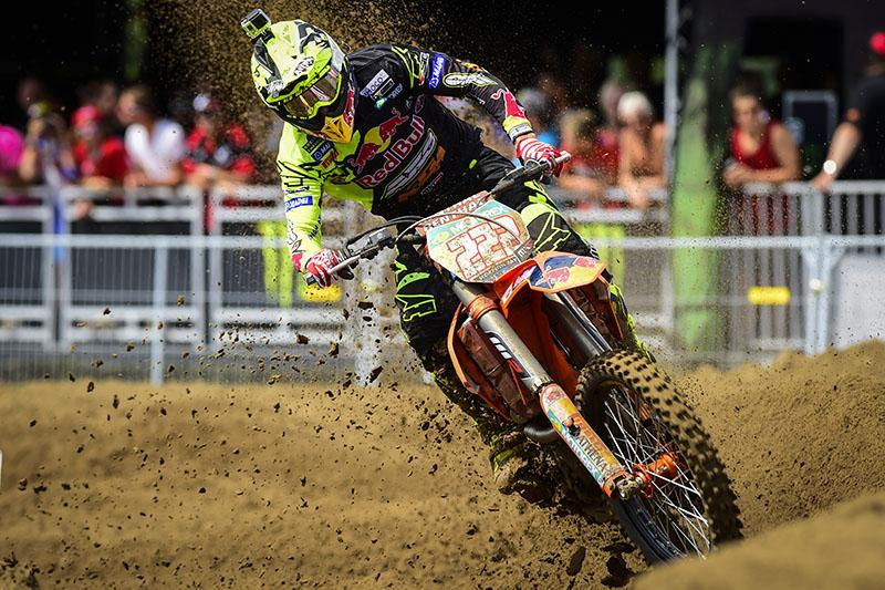 Antonio Cairoli went 1-1 in Belgium.  Photo: MXGP