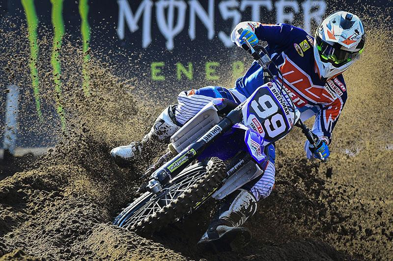 Max Anstie won the MX2 Class.  Photo: MXGP