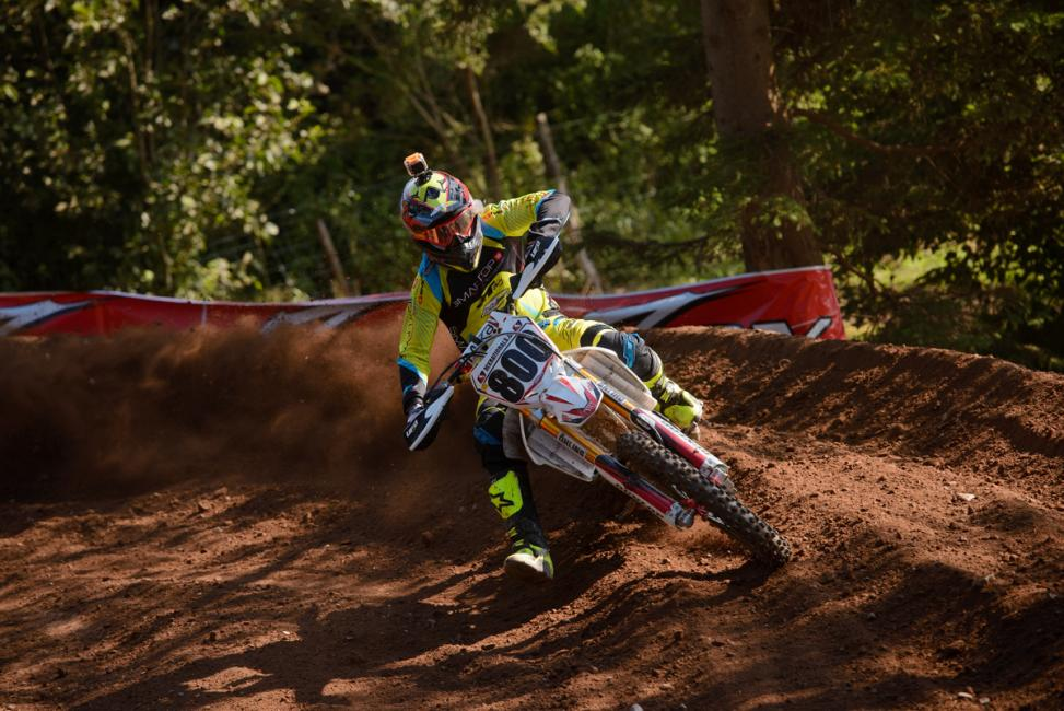 Mike Alessi won in Canada on Sunday.