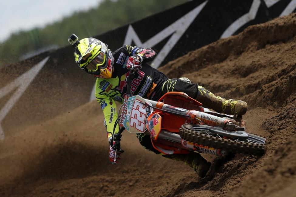 Tony Cairoli is nearing another world championship. Photo: Ray Archer