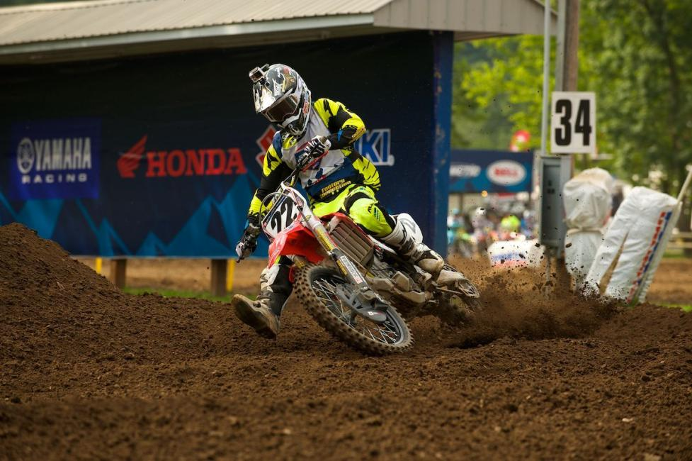 RJ Hampshire will make his pro debut this weekend with GEICO Honda.  Photo: Christian Munoz