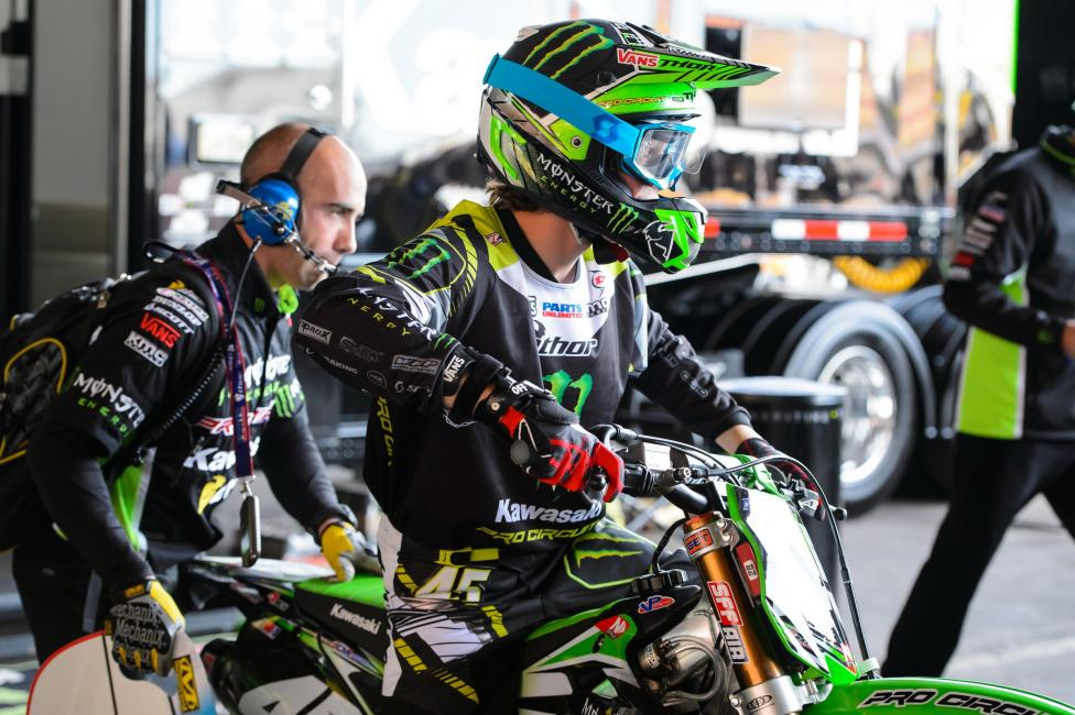 After missing all of supercross and the first nine rounds of Lucas Oil Pro Motocross, Darryn Durham will make his 2014 debut this weekend.  Photo: Monster Energy