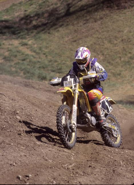 Once Smith picked up an off-road ride with Suzuki, he became one of the greats of the woods.Photo: Racer X Archives