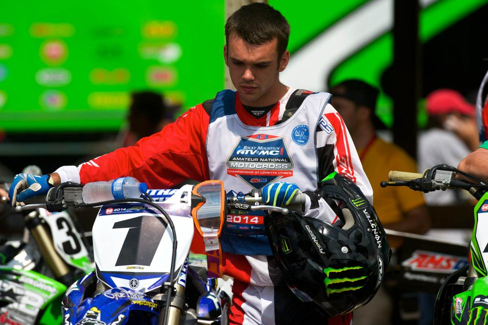 Check for Luke Renzland on his #343 Yamaha this weekend.