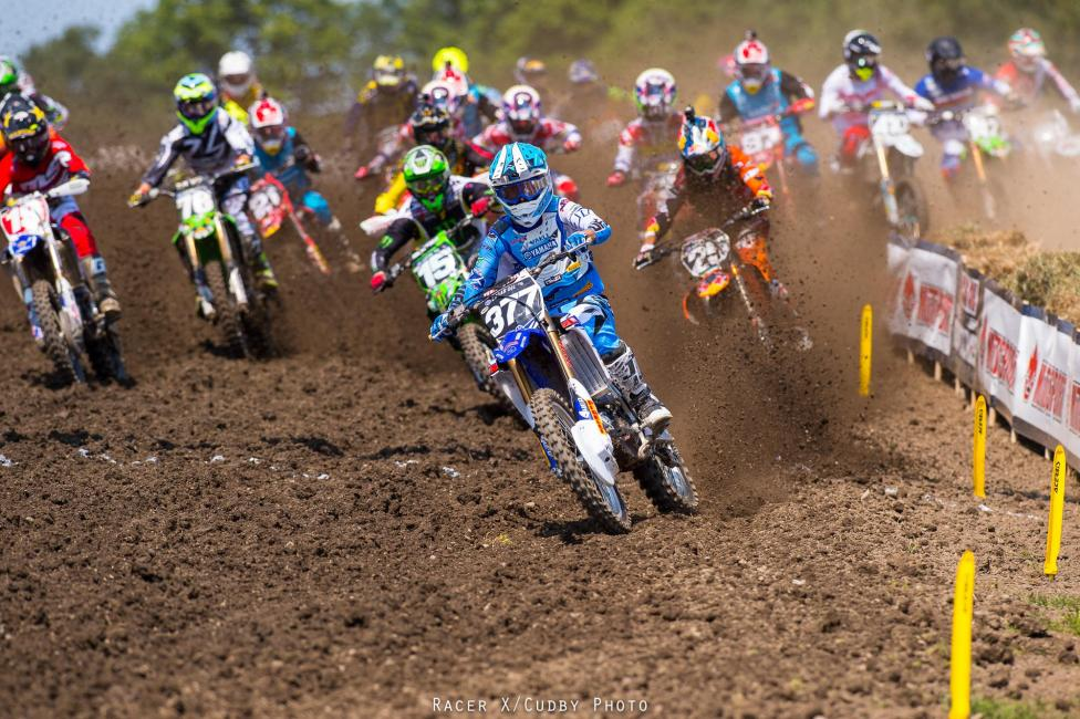Christophe Pourcel won his first race since 2010 at Unadilla.  Photo: Simon Cudby