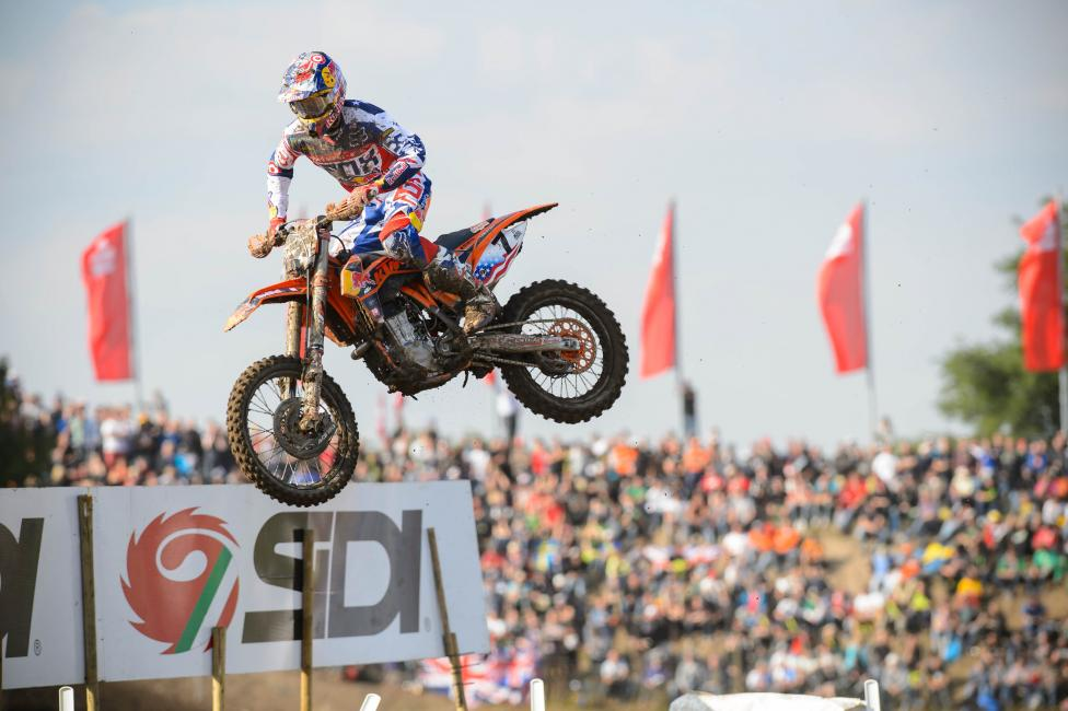 Ryan Dungey is making his sixth appearance.