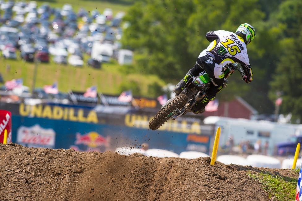 Dean Wilson had his best finish of the season at Unadilla.