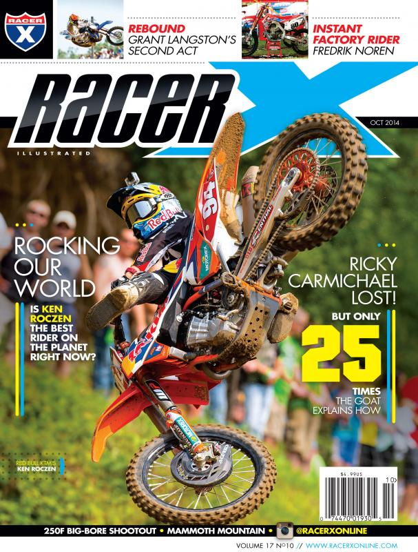 The October 2014 Issue - Racer X Illustrated Motocross Magazine