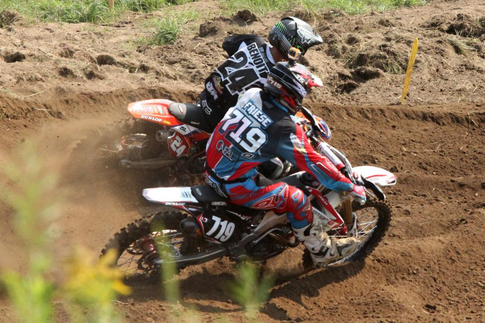 The Benoit, Friese battle has escalated in Canada. Photo: Billy Rainford/Directmotocross.com