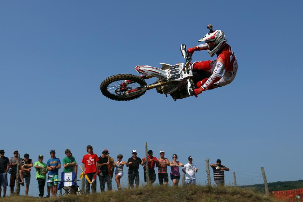 Is Mike Alessi headed back to Canada? Initial reports say he is.  Photo: Billy Rainford/Directmotocross.com