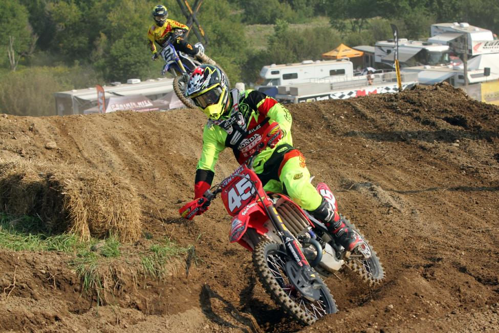 Colton Facciotti is at the head of the class in MX1.