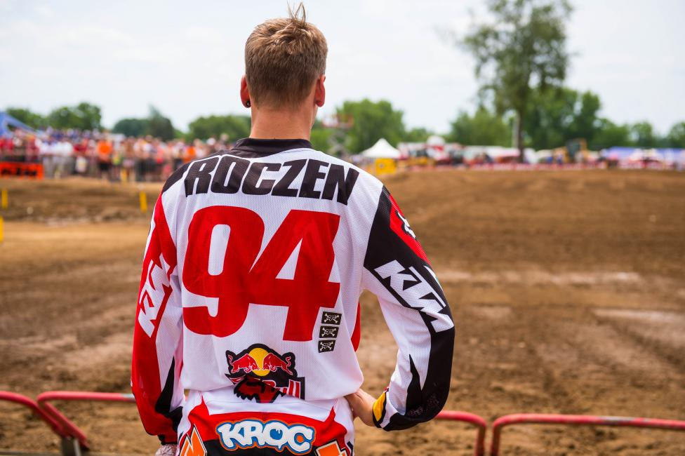 Roczen is a rookie in the class, and would seemingly have many more attempts at this title. However, racing is unpredictable, and surely he wants to get one when it's already within reach.Photo: Simon Cudby