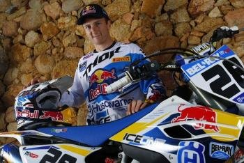 Rattray, Husqvarna Part Ways