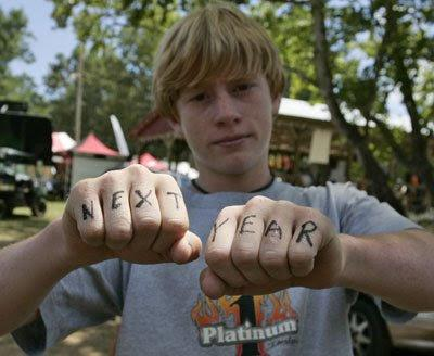 What will Ryan's new knuckle tats say: PEAC EOUT? LOVE GP'S? FOUR TIME?