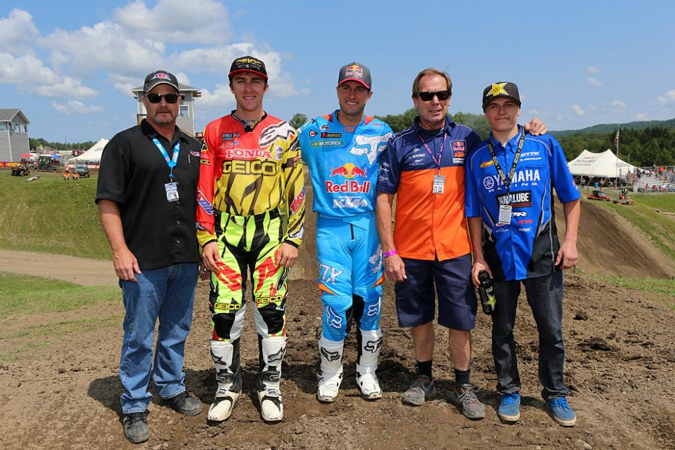 This Team USA will be racing in Latvia in September. Photo: GuyB/VitalMX.com