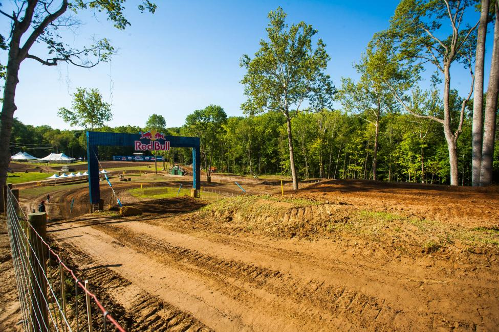 The new track in Indiana.  Photo: Andrew Fredrickson