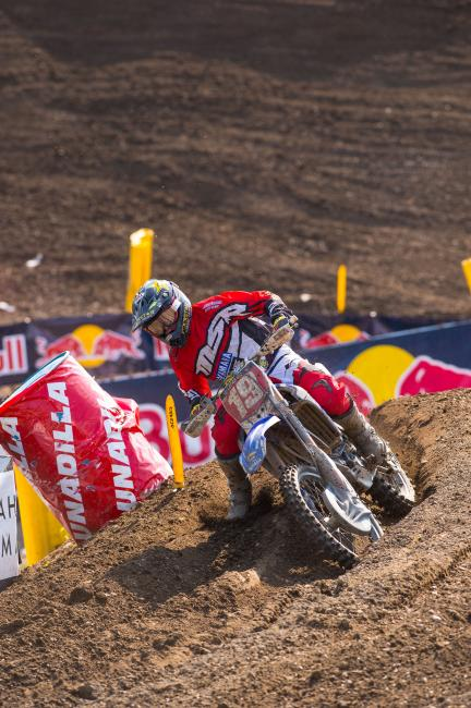Jeremy Martin looks to put the 250 title on ice this weekend. Photo: Simon Cudby
