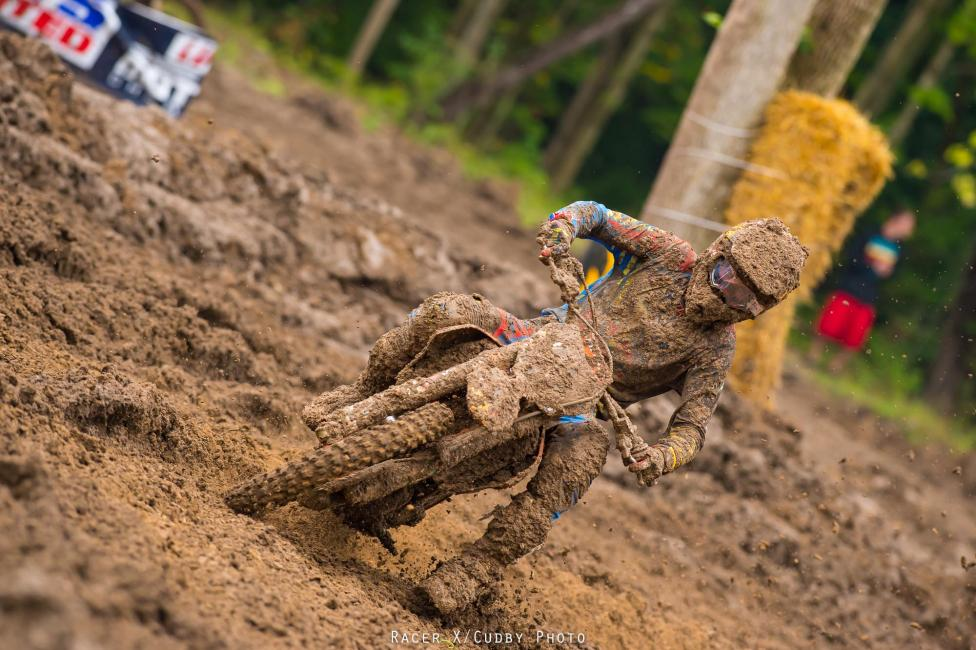 Ryan Dungey had his struggles at Indiana.