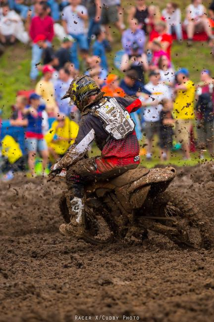 Ryan Sipes captured his first career podium. Photo: Simon Cudby