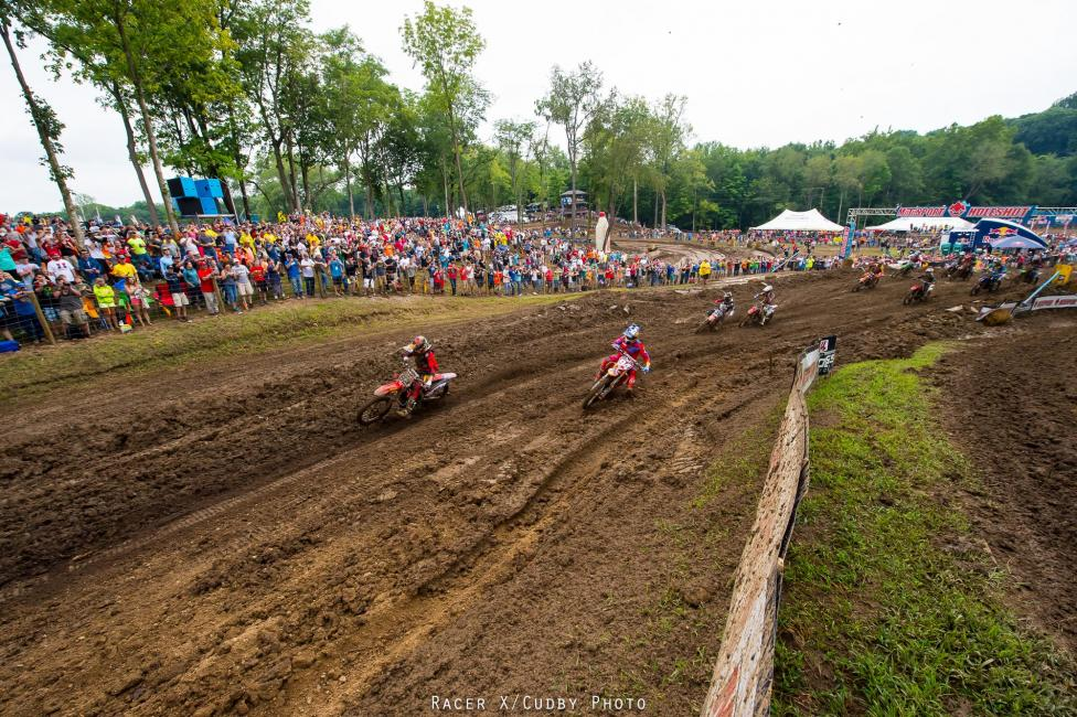 Canard and Roczen out front early.Photo: Cudby photo
