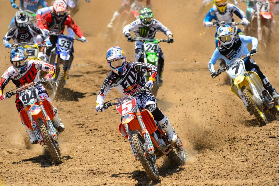 Although Dungey lost a chunk of points at Indiana, he had already dug a hole early in the season.