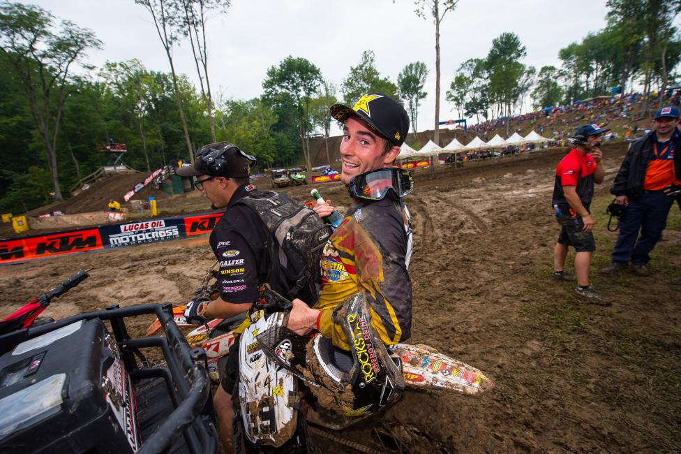 Sipes will race the Lucas Oil Pro Motocross finale in Utah and then head back to GNCCs.