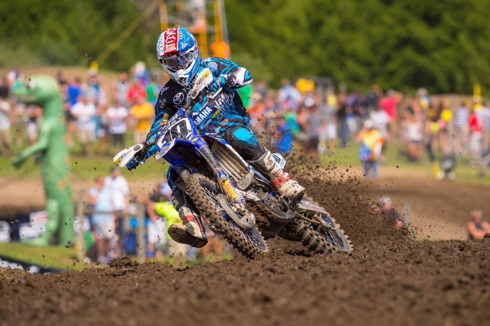 """The one thing you can do is you can make a rider comfortable on his motorcycle. If you're at Unadilla and you make a rider comfortable there, you pretty much can guarantee that that same setting will make him comfortable at RedBud..."" - Oler Photo: Simon Cudby"