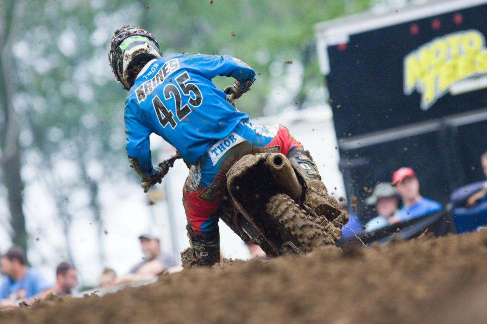Gaines finished fifteenth overall, just behind Loretta Lynn's graduate Chris Alldredge. Photo: Andrew Fredrickson