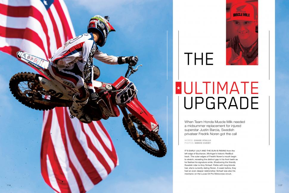 "Read ""The Ultimate Upgrade"" in the October 2014 issue of Racer X.Photo: Simon Cudby"