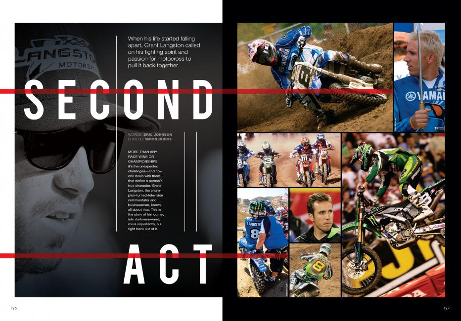 "Read ""Second Act"" in the October 2014 issue of Racer X.Photo: Simon Cudby"