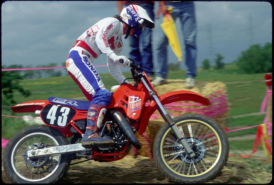 National number 43 doesn't make you a likely pick for next year's championship, but Dymond and that magical CR125 made it happen.Photo: Racer X Archives