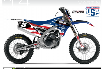 Tomac, Martin Debut Team USA Graphics
