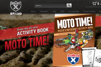 Moto Time! Racer X Motocross Activity Book