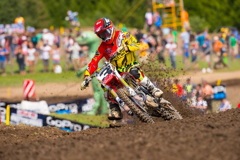 Tomac is a motocross hero giving back. Photo: Simon Cudby
