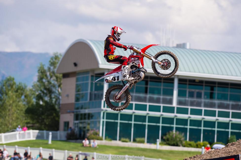 Trey Canard ended the season with 1-1 scores at Miller Motorsports Park.Photo: Simon Cudby