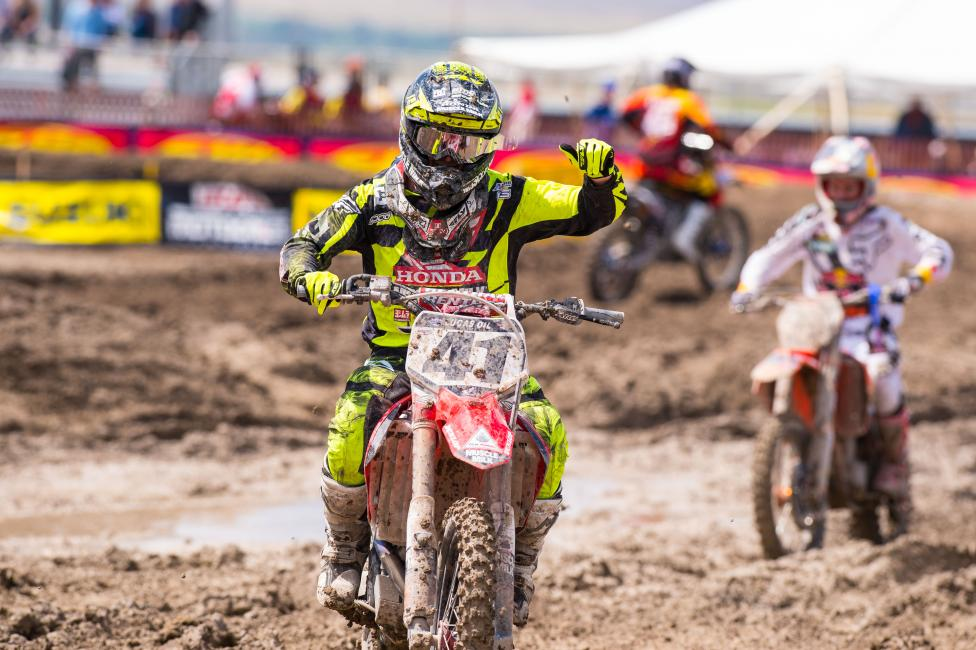 Trey Canard was hot down the stretch, winning four of the last six motos.