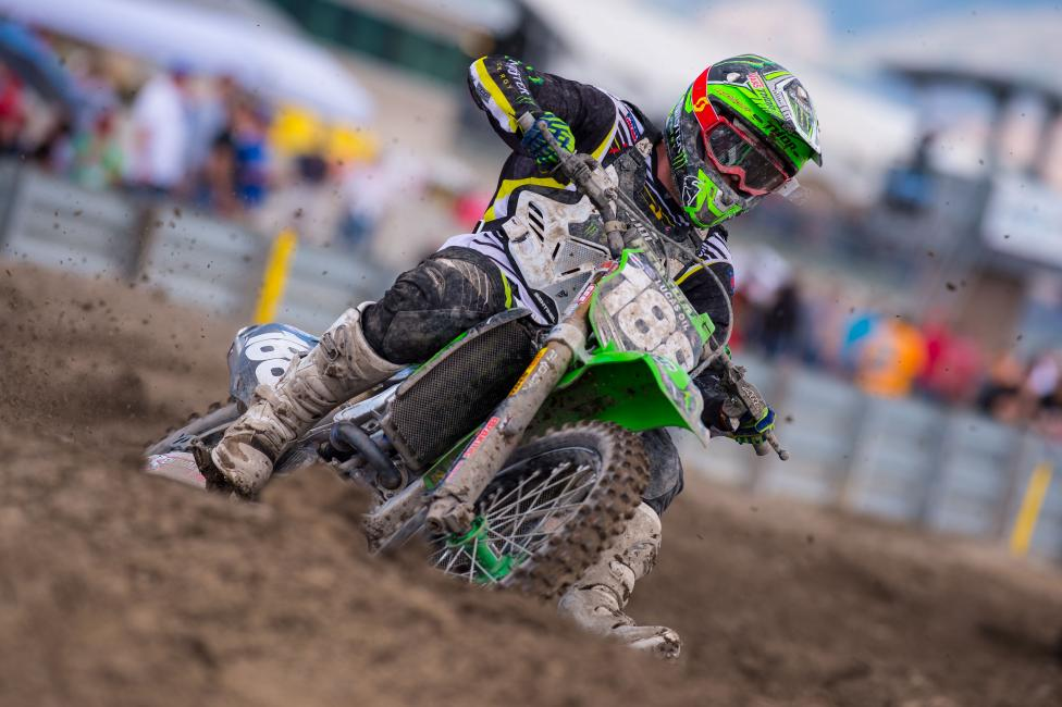 Chris Alldredge, through pro-am points, will go directly to SX next year.  Photo: Simon Cudby