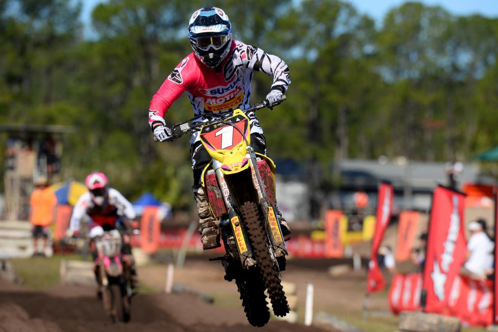 Matt Moss is the MX1 champion of Australia.Photo: Jeff Crow