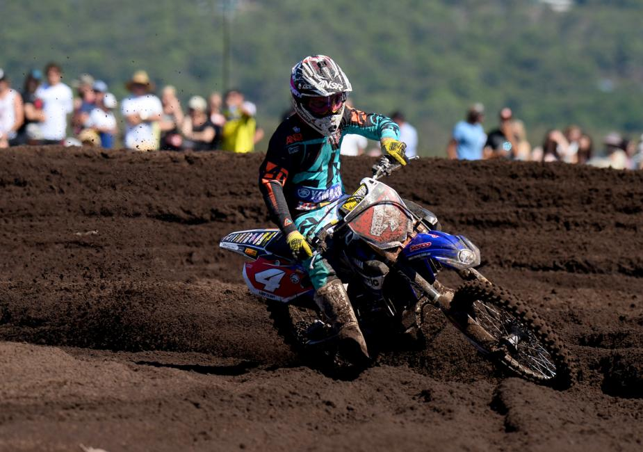 Luke Clout is the Australian MX2 champion.Photo: Jeff Crow