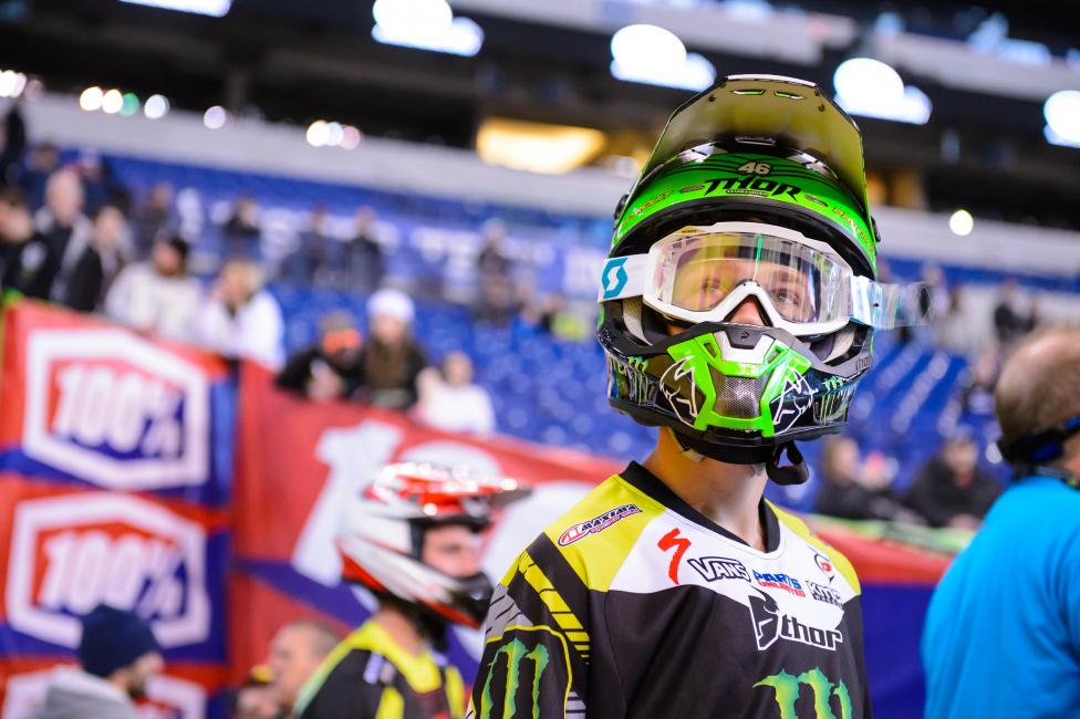 Cianciarulo is back on the bike getting ready for 2015.