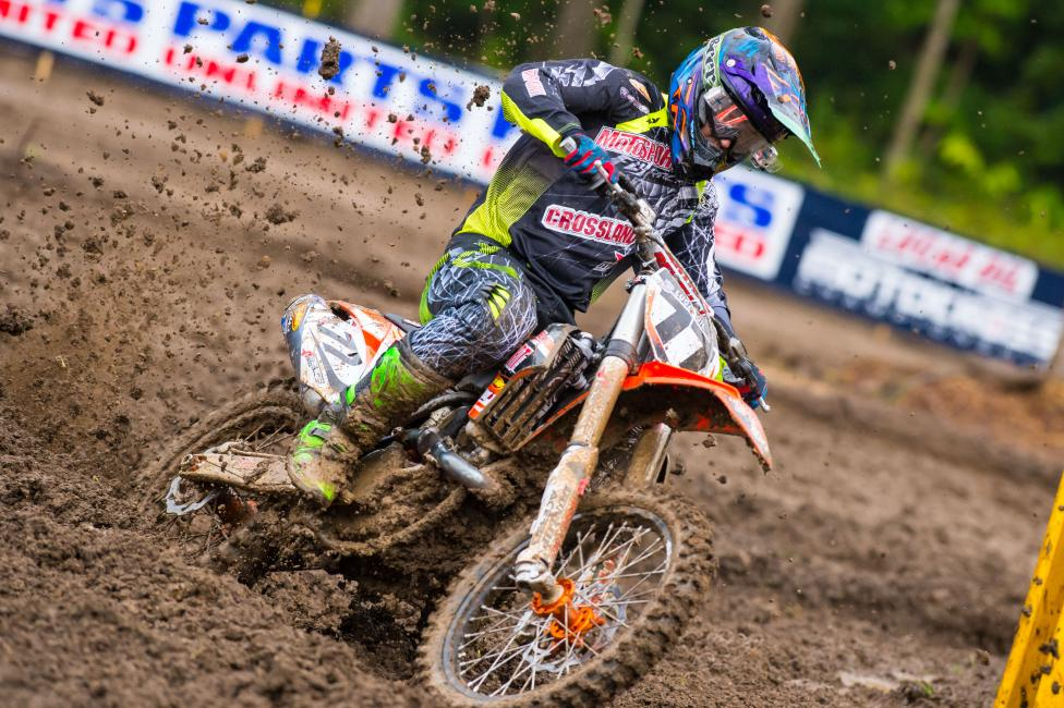 Jimmy Albertson is one of many riders running Rekluse. Photo: Simon Cudby