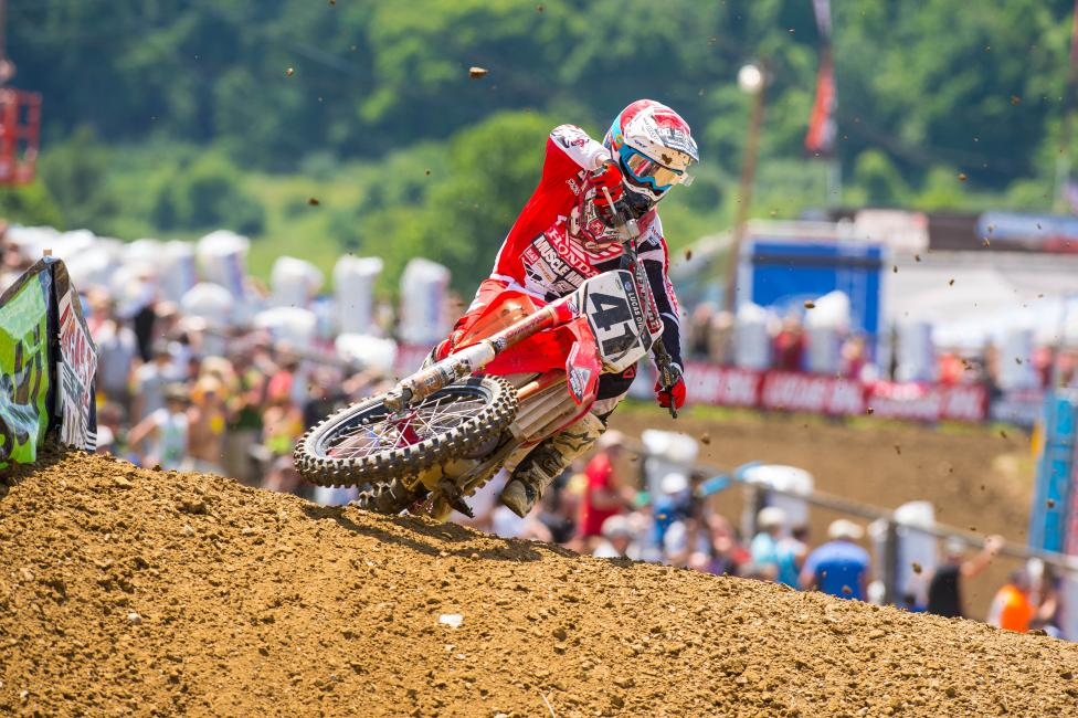 Helped by a big season from Trey Canard, Honda had the most combined points on the year.