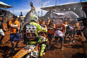 Antonio Cairoli Clinches Eighth World Championship in Brazil