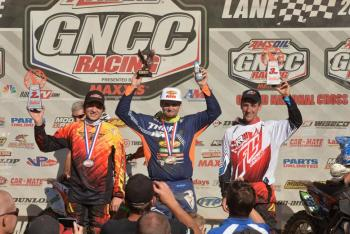 Russell Dominates in GNCCs Return