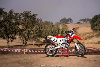 Honda 2015 CRF450R Intro Gallery