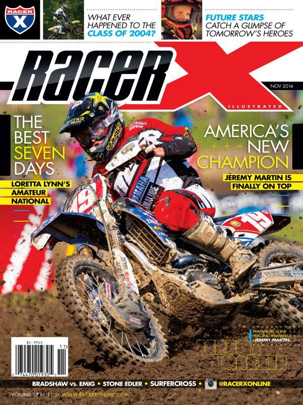 The November 2014 Issue - Racer X Illustrated Motocross Magazine
