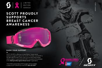 Scott Launches Breast Cancer Awareness Goggle