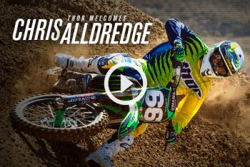 Thor Teams with Chris Alldredge for SX Debut